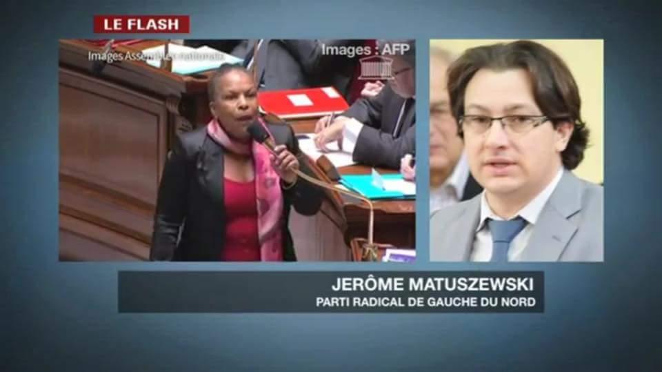Jérôme Matuszewski intervenant à Grand Lille TV